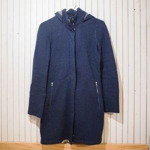Wool Sweater Jacket Long